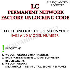 LG UNLOCK CODE FOR T-Mobile LG B450 & MetroPCS LG MS450 NETWORK PERMANENT UNLOCK