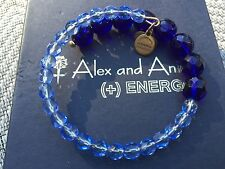 ALEX and ANI VINTAGE 66 EUPHORIA Collection Crystal MELODY Bead WRAP BRACELET��