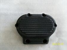 Harley transmission cover- 5 speed evolution-ribbed-wrinkle black powder coat