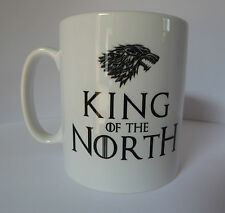 King of the North Game of Thrones inspired ceramic Mug Coffee Cup Gift Present