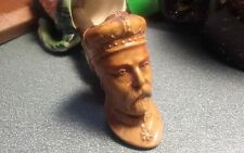 Antique England made Crowned King Edward VII Glazed Clay Estate Pipe c. 1901