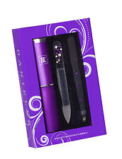 Danielle 3 Pc Nail Care Gift Set Inc Swarovski Crystal Elements Purple Gift Idea