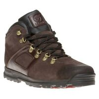 New Mens Timberland Brown Gt Scramble Mid Suede Boots Lace Up