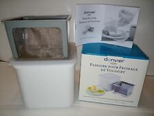 Donvier by Cuisipro Yogurt Cheese Maker Never used