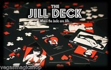 The Jill Deck Playing Cards Poker Size Marked Custom Limited Edition New Sealed