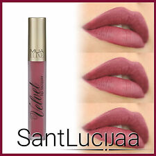 MUA LUXE VELVET LIP LACQUER SHADE DASH - NUDE DARK BROWN BARE LIPSTICK LIP GLOSS