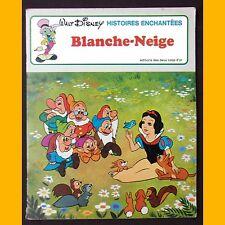 Collection Histoires Enchantées BLANCHE-NEIGE Walt Disney 1979