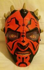 Star Wars Darth Maul Electronic Talking Helmet Mask 2011 From Hasbro Collectable