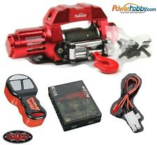 Powerhobby 1/10 Scale Rock Crawler Winch w/ RC4WD Wireless Controller Set Red
