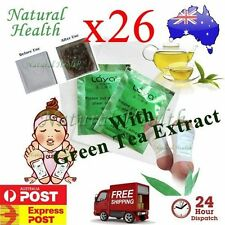 26 Detox Foot Pad Patch KINOKI Herbal Weight loss toxin remove Green Tea Extract