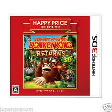 Donkey Kong Country Returns 3D HAPPY PRICE 3DS NINTENDO JAPANESE  JAPANZON