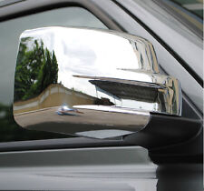 Chrome Door Side Rear View Mirror Garnish Cover for Jeep Patriot 12-16