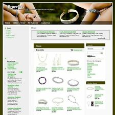 Established Jewelry Bracelets Online Business Website For Sale! Free Domain Name