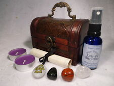 LAW OF ATTRACTION RITUAL CHEST spell kit wiccan pagan magic wealth love success