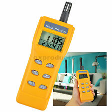 Carbon Dioxide Tester Handheld CO2 Temp %RH Humidity Meter Air Quality Diagnose
