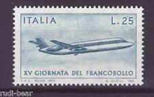 Italia N. 1431 ** giorno della FRANCOBOLLO AEREO JET