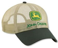 NEW John Deere Tan All Mesh Cap JD Hat LP14399