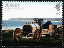 1903 MERCEDES SIMPLEX 60HP Sports Car Automobile Stamp (2016 Jersey)