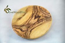 "Olive wood rustic bowl / dish / plate 5.5""/14cm hand crafted From Holy Land"