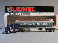 LIONEL TRACTOR & TANKER LIONEL GAS COMPANY 027/0 gauge train semi truck 6-12739