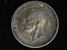 1927 Italy 5 Lire - Silver - Eagle