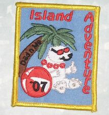 Island Adventure Patch - Girl Scouts Dad n Me  -  2007