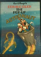 Walt Disney's DONALD DUCK - THE POP UP ASTRONAUT -  Rare 1970 First Edition