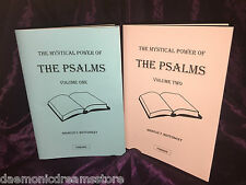 MYSTICAL POWER OF THE PSALMS Finbarr Occult Magic Magick White Grimoire Bible