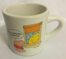 Ziggy Stoneware Mug Cup Made in Korea Coffee Vintage Tom Wilson Greetings 1983