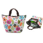 Waterproof Picnic Lunch Bag Tote Insulated Cooler Travel Zipper Organizer Box