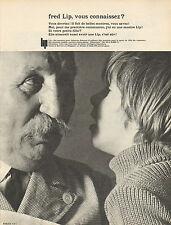 Publicité Advertising 1965  Montre fred Lip  ...