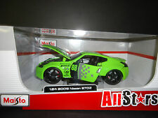 Maisto Nissan 370Z 2009 Green All Stars 1/24