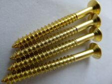 Gold Guitar Neck Plate Screws set of 4