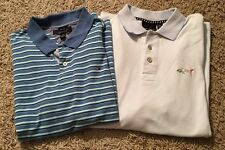 Lot Of 2 Mens SS Polo Shirts-Tommy Hilfiger & Shark Greg Norman, Size XL