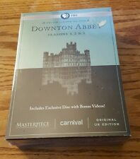 Downton Abbey: Seasons 1, 2 & 3 (DVD, Deluxe Limited Edition, Amazon Exclu.) NEW