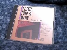 "PETER PAUL & MARY ""BEST COLLECTION"" JAPAN CD RHTF"