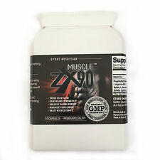 Muscle ZX90 - Strong Bodybuilding Supplement non steriod Herbal Natural Gym
