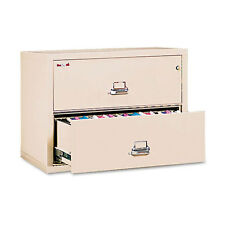 Fire King 2-Draw Fire Safe Lateral File  UL Listed 350� Ltr/Legal FIR23822CPA