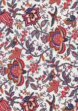 Indienne Provence Stoff BEIGE112 Colombe ecru allover