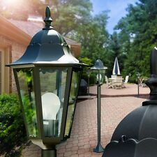 Klassische Wege Lampe Garten Aussen Steh Leuchte Stehlampe Laterne Terrasse Glas