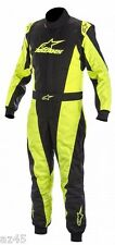 Alpinestars  Go Kart Racing Suit K-MX5 NRG  Ltd Edition Blk/Yel      Size 40