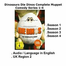 Dinosaurs Die Dinos Complete 1 2 3 4 Muppet Comedy Series 1-4 [9 DVD] BoxSet UK