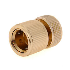 """Brass Auto Water Guide Quick Fit Female Hose Pipe Connector Hoselock Clips 1/2 """""""