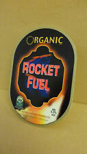 Organic Brewery Rocket Fuel Ale Beer Pump Clip face Bar Pub Collectible