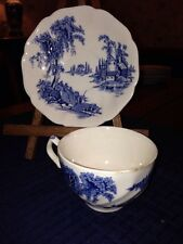 Johnson Brothers THE OLD MILL BLUE Cup & Saucer