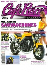 CAFE RACER 12 HARLEY DAVIDSON XR 1000 VOXAN Black Magic YAMAHA XS 650 BMW R90/S