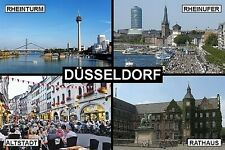 SOUVENIR FRIDGE MAGNET of DUSSELDORF GERMANY