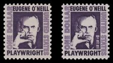 1294 1294a O'Neill $1 Prominent Americans Tag Variety Set of 2 MNH - Buy Now