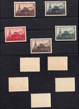 URSS 1934 10° ANNIVERSARIO MUSEO LENIN SERIE 5 VALORI UNIFICATO 514/518 FOTO