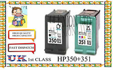 Remanufactured 350 &351High Capacity&Quality Inkjet Cartridges for hp printer